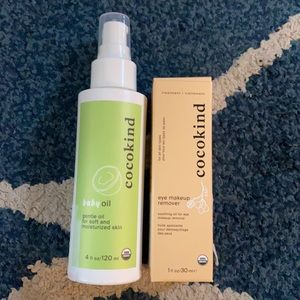 New Cocokind Bundle inc Baby Oil & Makeup Remover
